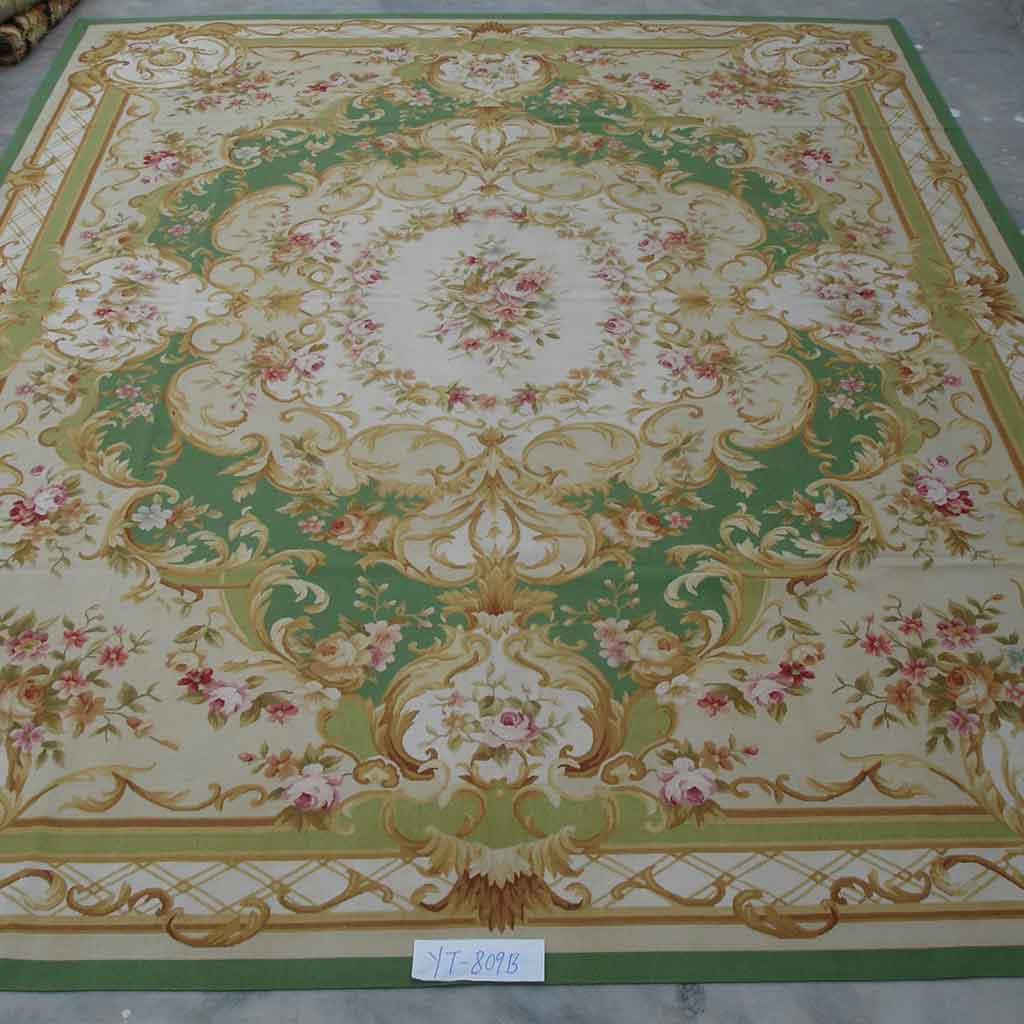 Yilong Carpet Factory Can Supply Very Fine Quality Hand