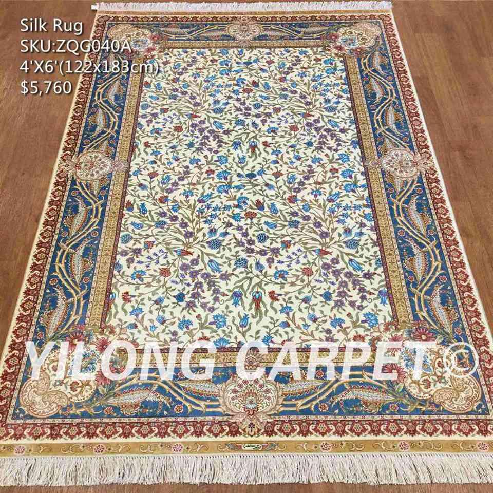 Silk Carpet Zqg040a Material Size 4ft X 6ft 1 22m 83m Price Us 5 760 00 Quany In Stock 2pc