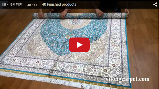 Finished products hand woven persian carpet